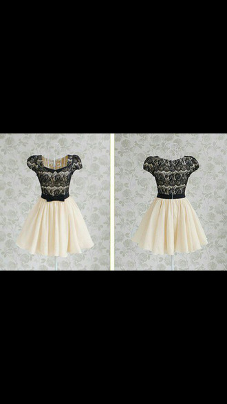 black and white dress little black dress princess dress printed dress