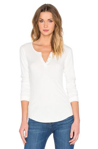 top long white