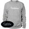 Parisienne print sweatshirt