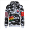 Top fashion high quality world flag men & women hoodies sweatshirts men's clothes supreme hoodie mens hoodies and sweatshirts