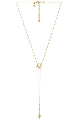 rock necklace metallic gold jewels