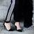Black Suede Thin Heeled Heels | Choies