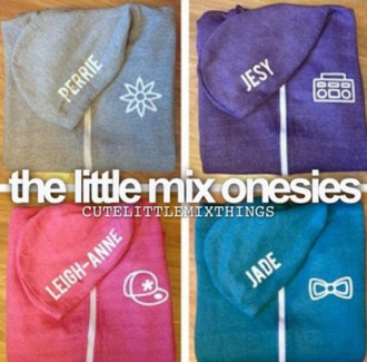 sweater onesie little mix perrie edwards jade thirlwall jesy nelson leigh-anne pinnock