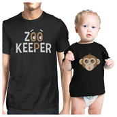 t-shirt,monkey emoji tee,black t-shirt,cute baby clothing,cute matching clothes,cute matching shirts,father and son t shirts,funny baby shirt with daddy,graphic tee