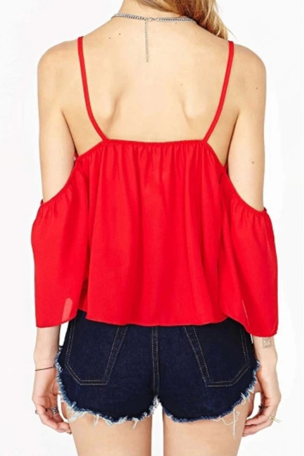 Shoulder top · cotton & silk · online store powered by storenvy