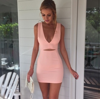 dress peach bodycon pink black dress boho dress maxi dress prom dress red dress pink summer dress beach dress deep vneck hollow dress openwork shorts mini dress