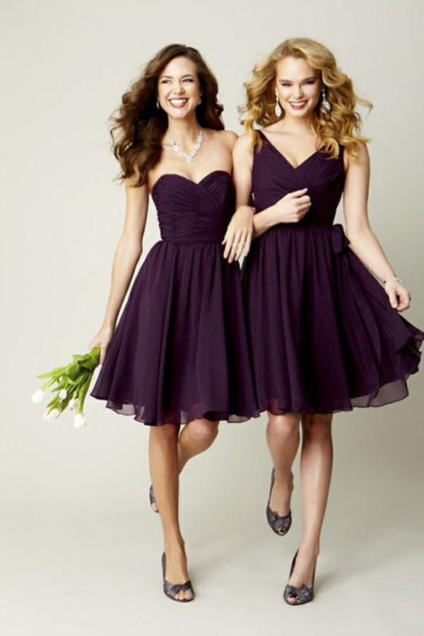 dress bridesmaid chiffon dress dress