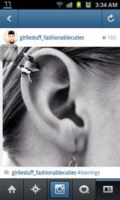 jewels,earrings,cartilage,arrow