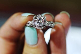 jewels ring floral diamonds engagement ring