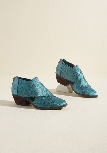 Modcloth green shoes
