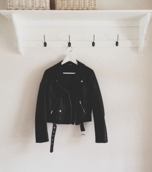 black belt jacket leather jacket leather leather black perfecto perfecto belted rock