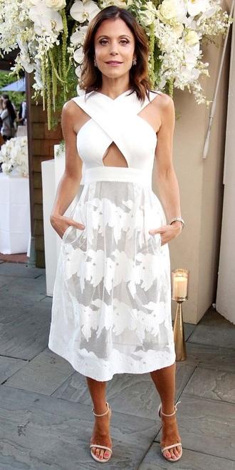 dress white bethany frankel