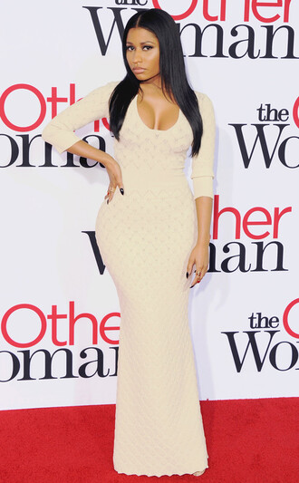 nicki minaj knit dress