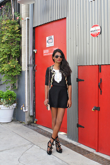 tuolomee bag jacket blogger blouse