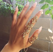 jewels,rings and tings,accessories,nails,gold sequins,official brand tip,green dress,india love,pretty,the bling ring