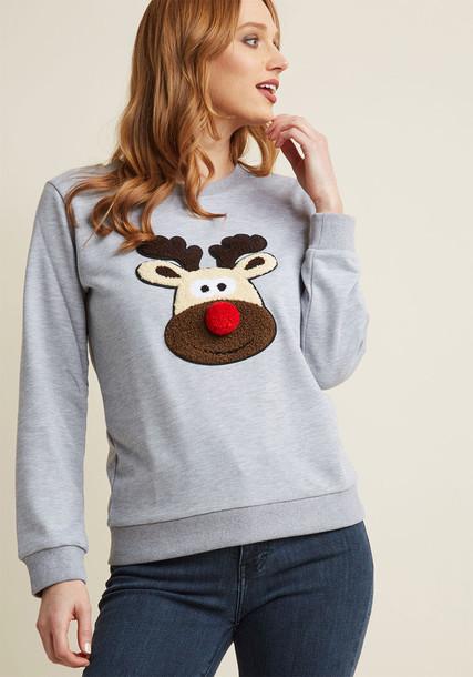Compañia Fantastica sweatshirt grey sweater