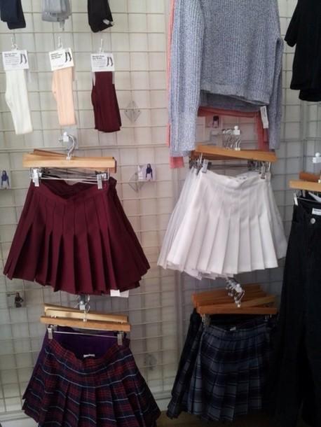 skirt colorful skirt grunge soft grunge