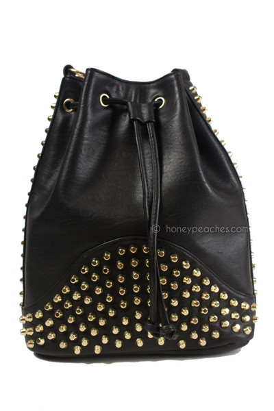 Heart Breaker Studded Bag | Honey Peaches