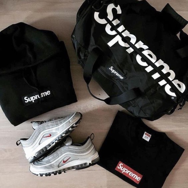 shoes nike sneakers supreme