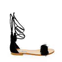 Sandals In Fringe Madden Sweetyy Flat SuedeSteve DEY9W2IH