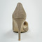 Faux suede pumps in taupe   entourage clothing & gifts