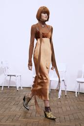 dress,copper