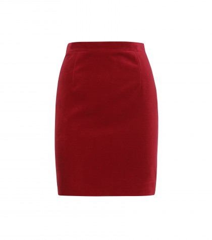 mytheresa.com -  Velvet skirt  - Short - Skirts - Clothing - Luxury Fashion for Women / Designer clothing, shoes, bags