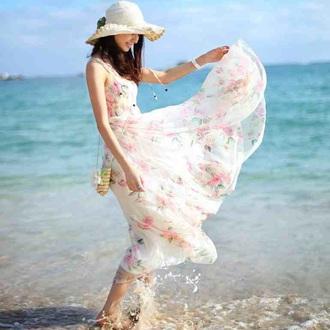 dress floral dress summer dress maxi dress