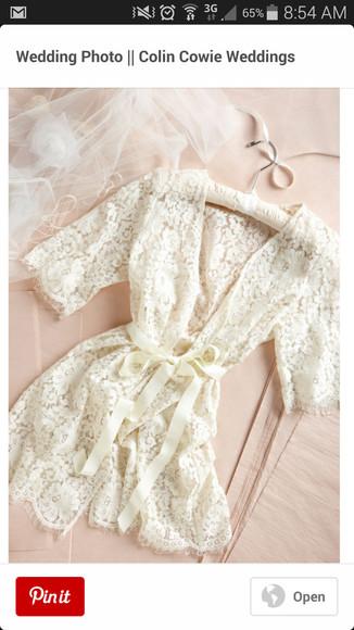 pajamas white robe wedding robe