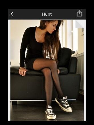 dress little black dress blackdress black mini dress