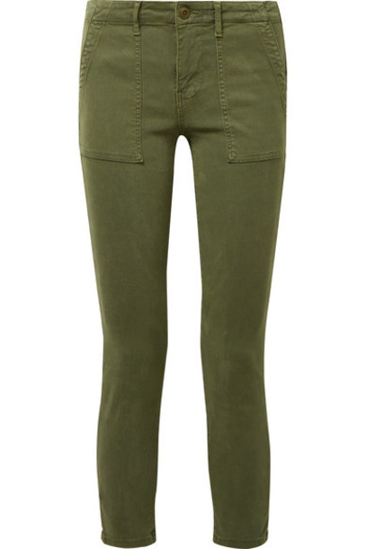 The Great pants green army green
