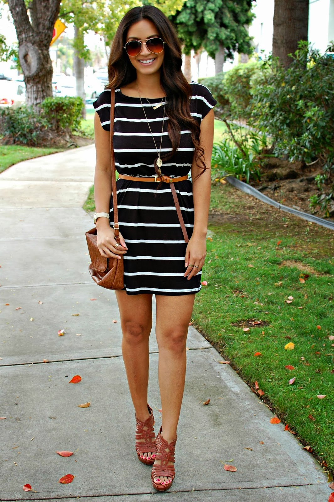 Vanessa Balli: How to Wear Black and Tan