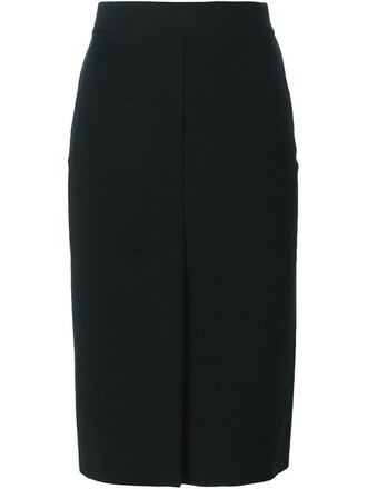 skirt midi skirt midi slit black