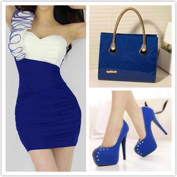 sex cute shoes dress heals bag ruffle