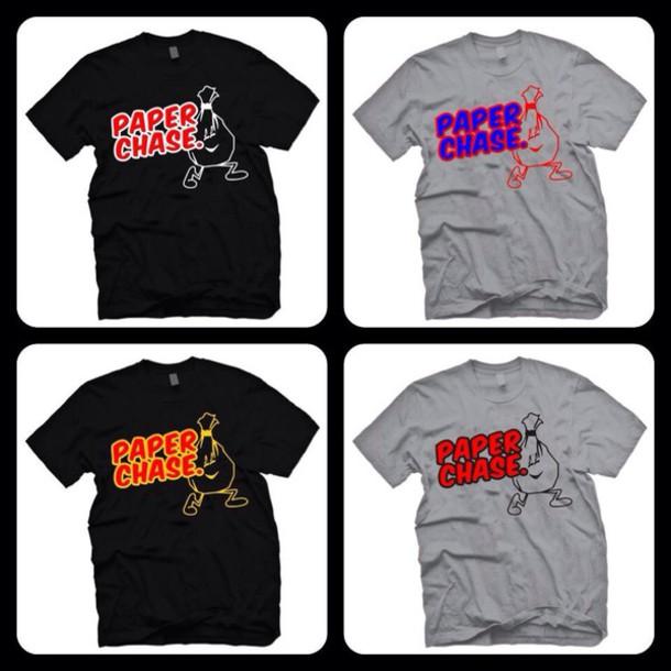 t-shirt big money clothing bigmoney t-shirt paperchase uk brand style trendy
