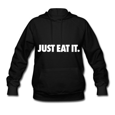 Just Eat It Hoodies