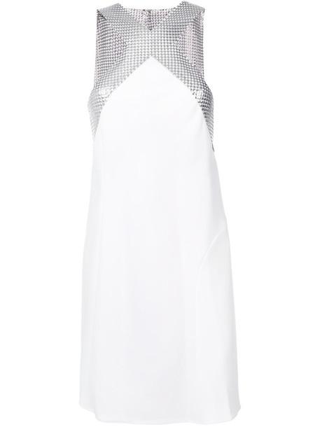 Paco Rabanne dress mini dress mini women white