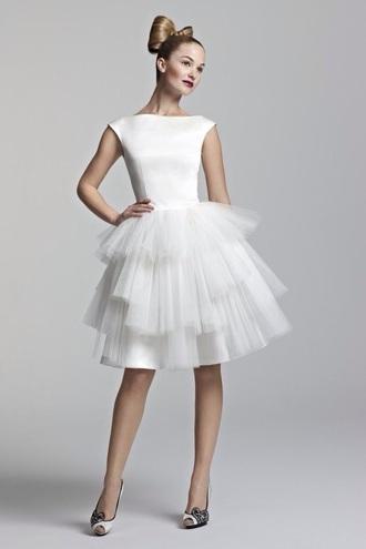 tulle skirt white dress sleeves