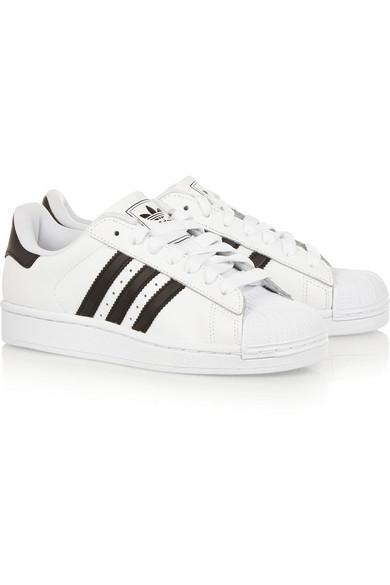 adidas Originals | Superstar II leather sneakers | NET-A-PORTER.COM