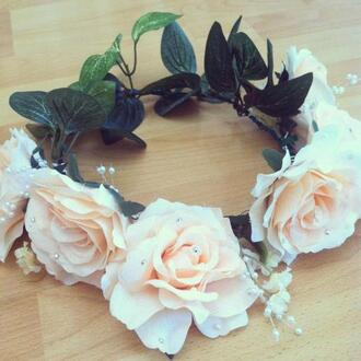 belt flowers floral hair accessory great