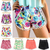 9 Colors New 2014 Fashion Women Floral Pattern Print Pom Pom Hem Short High Waist Beach Shorts Casual Chiffon Summer Surf SP001-in Shorts from Apparel & Accessories on Aliexpress.com