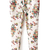 ROMWE | Belted Floral Print White Pants, The Latest Street Fashion