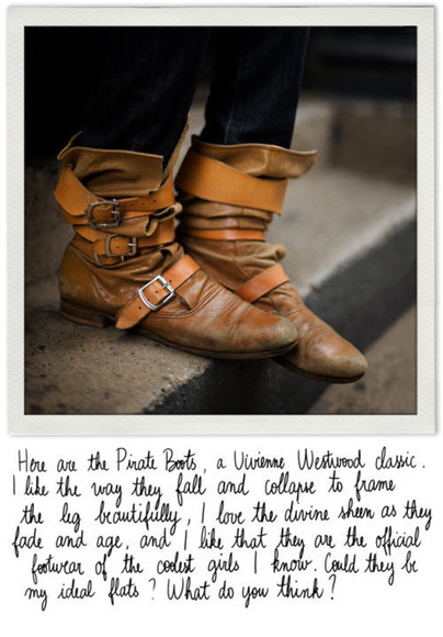vivienne westwood boots pirate boots