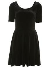 dress,velvet dress,black dress