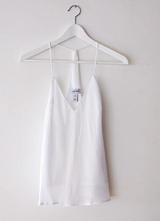 tank top top dress white ivory mini dress straps blouse white shirt white blouse sleeveless sleeveless blouse sleeveless shirt chiffon pretty cute chiffon blouse white dress summer shift dress cami dress cami