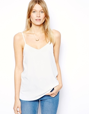 ASOS | ASOS Longline Woven Cami Top at ASOS