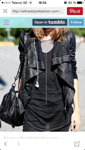 jacket jacet black