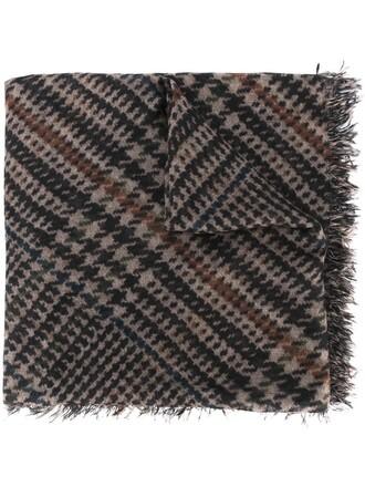 women scarf print silk