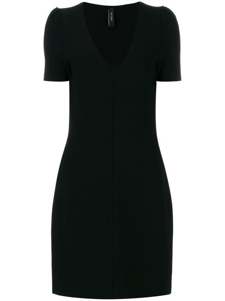 dress shirt dress t-shirt dress women black