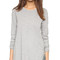 Wilt asymmetrical slouchy tunic - grey heather
